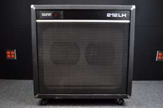 SUNN 212LH 2x12 Bass/Guitar Amp Speaker Cabinet Cab