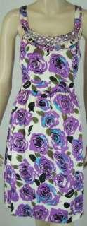 KENSIE DRESSES Silk Sun Dress Sz 10 $148 NWT 5145