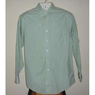 Mens Beautiful Brooks Brothers Striped Dress Shirt Sz M