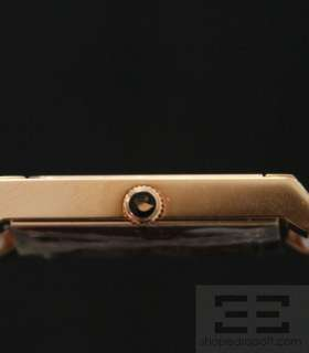 Swarovski Citra Square Crystal, Rose Gold PVD Watch NEW
