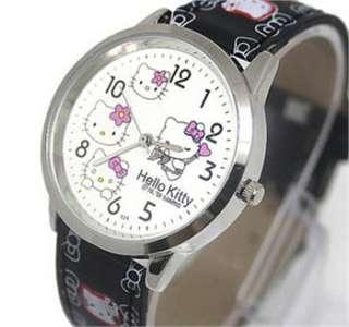 Kids Quartz HelloKitty Students Girl Children Ladies Wrist Watch