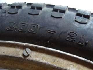 1975 Bultaco Alpina 350 Front Wheel Tire Rim   Image 02