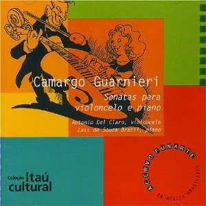 Sonatas Para Violoncelo E Piano Camargo Guarnieri Music