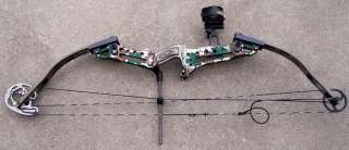 Hoyt Redline Striker Compound Bow RH 30 /70 Camo