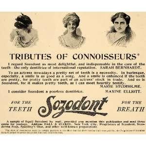 Breath Dentist Dental Studholme   Original Print Ad