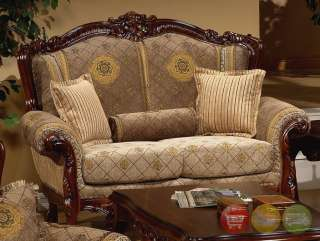 Sofa Sets  Living Room on Luxury Sofa   Love Seat Traditional Style Living Room Set Hd 94