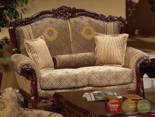 Sofa Sets  Living Room on Luxury Sofa   Love Seat Traditional Style Living Room Set Hd 94