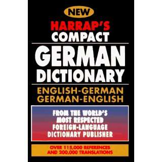 Harraps Compact German Dictionary English/German German