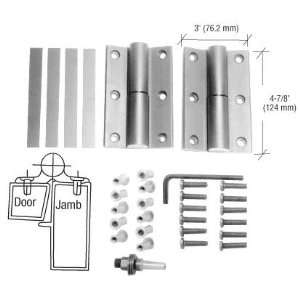 CRL Aluminum Storefront Door Hinge Replacement Kit by CR