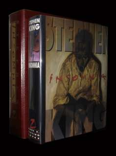 STEPHEN KING   Insomnia   SIGNED LIMITED 1ST EDITION