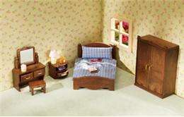 Calico Critters New Master Bedroom Furniture Set with Accessories
