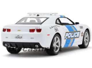 18 2010 CHEVY CAMARO SS RS DIECAST POLICE CAR BRAND NEW WHITE