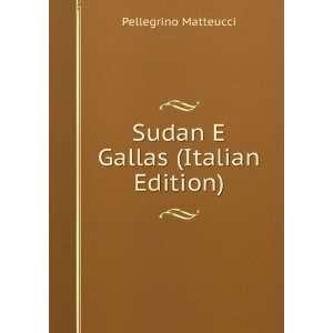 Sudan E Gallas (Italian Edition): Pellegrino Matteucci: Books