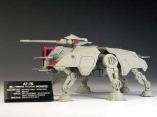 This auction is for one F TOYS STAR WARS VEHICLE AT TE (All Terrain