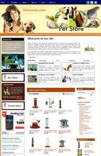 Profitable money making Pets Information  Store Website for sale
