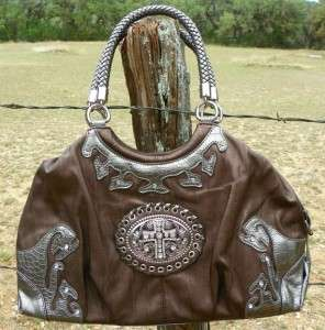 NEW Western Handbag Rhinestone Cross Purse Shoulder Bag