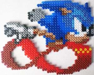 Flash Man Bead Sprite Megaman Nintendo Game Perler Art