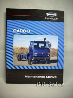 NEW Sterling Truck Cargo Maintenance Service Manual