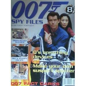 Spy Files 007 James Bond magazine Issue 8 James Bond 007
