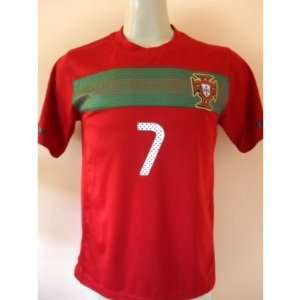 ... PORTUGAL   7 RONALDO HOME SOCCER JERSEY SIZE SMALL . 4a75f8312