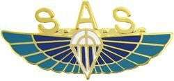 Special Air Services Winged Parachute Badge BRITISH SAS