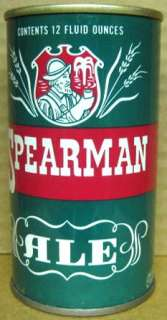 SPEARMAN ALE ss Beer Can Century Norfolk, VIRGINIA 1971