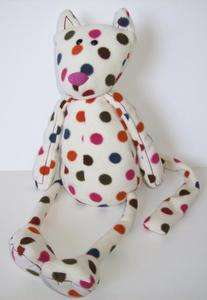 Jellycat Polka Dot Cat Dog Plush Toy