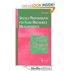 Speckle Photography for Fluid Mechanics Measurements Nikita A. Fomin