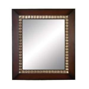 Charismatic Contemporary Wood Wall Mirror
