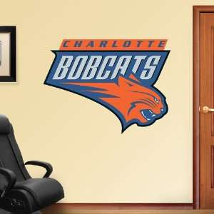 Charlotte Bobcats Logo Vinyl Wall Graphic Decal Sticker Poster Home