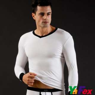 Colors Availabe Mens Thermal Winter Warmer Strench underwear Tops