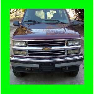 1995 1999 CHEVROLET CHEVY TAHOE CHROME GRILL GRILLE KIT 1996 1997 1998