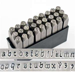 ImpressArt Metal Stamps  Canterbury 6mm Lowercase Alphabet Letter