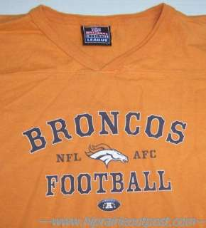Denver Broncos NFL Football Jersey T Shirt Mens XL