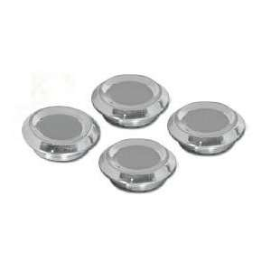 Chrome Handlebar Replacement End Caps 4 pack: Sports