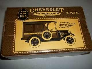 CHEVY CHEVROLET POSTAL TRUCK 1923 RUBBER TIRES NIB USPS
