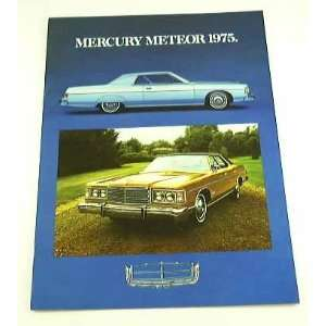1975 75 Mercury METEOR BROCHURE Rideau 500 Montcalm Everything Else