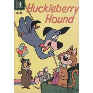 Huckleberry Hound Comic Book #7 (Oct 1960) Very Good Everything Else