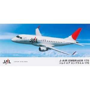 Embraer 170 Modern Jet Airliner (Plastic Model Airplane) Toys & Games