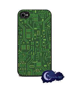 Computer Circuit Board   iPhone 4/4s Slim Case Cell Phone Cover