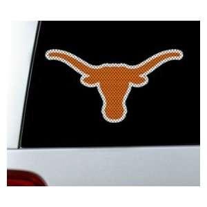 Sports Texas Longhorns Die Cut Window Film   Large