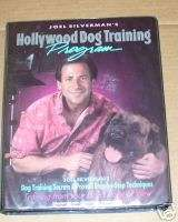 JOEL SILVERMANS HOLLYWOOD DOG TRAINING BOOK & TAPES*G8