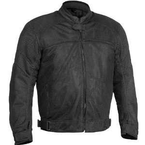 River Road Sedona Mesh Motorcycle Jacket Black 2XL