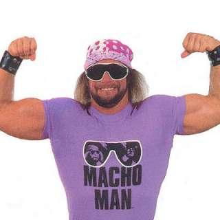 Macho Man RIP vintage style wwf randy savage T Shirt
