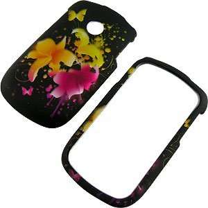 : Magic Flowers Protector Case for LG 800G: Cell Phones & Accessories