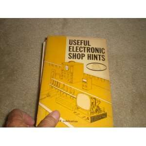 Hints: Electronic Technician Magazine Staff, Albert J. Forman: Books