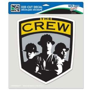 COLUMBUS CREW OFFICIAL LOGO 8x8 COLOR DIE CUT DECAL