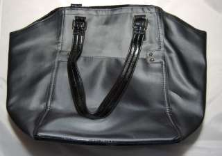 SECRET BLACK LEOPARD LINING TOTE SHOPPING BAG PURSE HANDBAG
