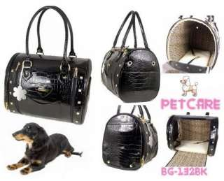 Black Petcare Pet Dog Cat Bag Carrier 36*23*28cm