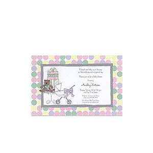 Baby Shower Scene Baby Shower Invitations: Baby